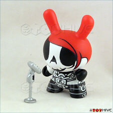 Kidrobot Dunny 2011 series figure Rock n' Roll by Elphonso Lam loose