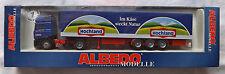 MAN F2000 LKW Hochland Käse Albedo 297002 Reefer Trailer H0 1:87#UI3 å