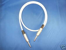 "Canare Balanced 1/4"" Trs Cable Neutrik White,15Ft."
