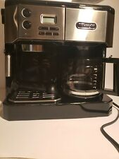 Used once  DeLonghi BCO430 Combo Pump Espresso 10-cup Drip Coffee Machine