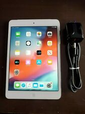 Apple iPad mini 2 16GB, Wi-Fi + LTE Unlocked 7.9in White Silver LIKE NEW