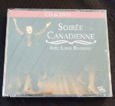Audio CD + DVD - Soirée Canadienne avec Louis Bilodeau
