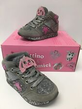 Lelli Kelly LK 6522 California Hi Tops Trainers with Lights in Grey