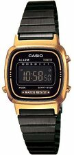 Casio LA-670WEGB-1B Orologio Donna polso Vintage Nuovo Crono Sveglia,