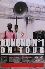 KONONO ON TOUR POSTER (B5)