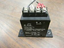 CTC AC Current Transducer CTV-300-5A Input: 5A AC Output: 0-1MA 0-5VDC 0-10VDC