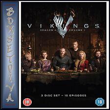 Vikings Season 4 Part 1 DVD Region 2 2016