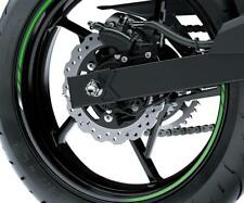 Kawasaki Ninja400 Et Z400 Anneaux Jantes Vert Pour 2 Jantes