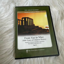 From Yao To Mao 5000 Years of Chinese History DVD Part 2 ONLY The Great Courses