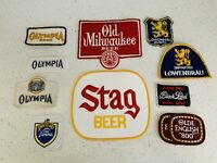 Lot Of Beer Patches, Stag Beer, Old Milwaukee, Olymipia, Carling, Lowenbrau