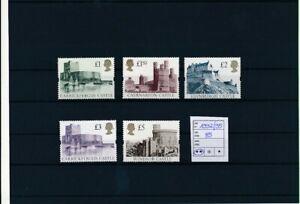 D193850 Great Britain MNH Castles 1992-95 Sc. 1445-1448
