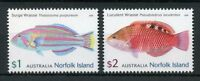 Norfolk Island 2018 MNH Wrasses Surge Luculent Wrasse 2v Set Fish Fishes Stamps