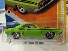 Hot Wheels '71 Dodge Challenger 2011 New Models Green