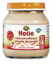 Glas - Bio Hühnchenfleisch 125g | HOLLE BABYFOOD