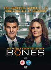 Bones Flesh & Bones Collection Season 1 2 3 4 5 6 7 8 9 10 11 12 And Reg 4 DVD