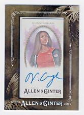 2017 Topps Allen and Ginter Framed Mini Autograph Vashti Cunningham High Jumper