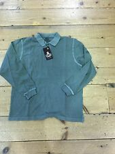 Pierre Cardin Long Sleeve Polo Shirt/khaki/ Size XL