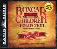New BOXCAR CHILDREN COLLECTION Volume 43 Warner Stories 127 - 129 on 6 Audio CDs