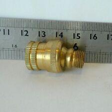 """Brass Swivel for 1/8"""" ip. to 1/4"""" ip Lighting Refurbish Repair Part"""