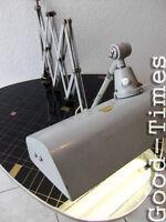 Große  Midgard Scherenlampe, Werkstattlampe Art Deco Bauhaus Stil  Neonlampe