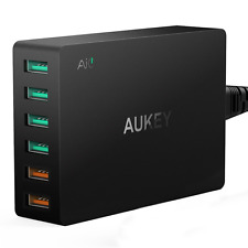 AUKEY Quick Charge 3.0 USB Ladegerät 60W, 2 Ports mit Quick Charge 3