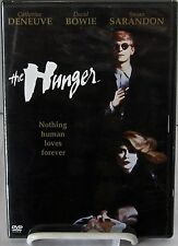 The Hunger (DVD,warner,Oct-2004 ) 1983 Película,David Bowie,CATHERINE DENEUVE