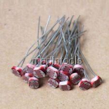 70pcs 7values Photo Light Sensitive Resistor Photoresistor Assortment Kit Set