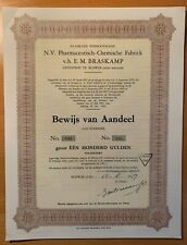 Pharmaceutisch - Chemische Fabriek voorheen E.M. Braskamp - Rijswijk (ZH)