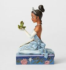 Disney Traditions Resilient & Romantic Ornament Princess & Frog Resin Figurine