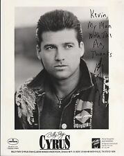 BILLY RAY CYRUS AUTOGRAPHED SIGNED PHOTO (8X10) INSCRIBED 11459 WN