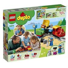 LEGO DUPLO Steam Train 10874 Remote-Control Building Blocks Set