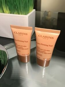Clarins Extra-Firming Nuit / Night Cream Lot of 2 x 15 ml - Sealed