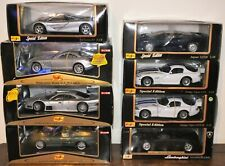 Maisto Premiere Edition & Special Edition Sports Car Joblot 1/18 Multi-listing