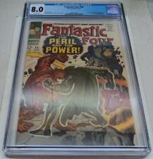 FANTASTIC FOUR #60 CGC UNIVERSAL GRADE 8.0 (Marvel 1967) DR DOOM & SILVER SURFER