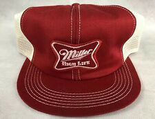 VTG Miller High Life K-Products Snapback Trucker Hat