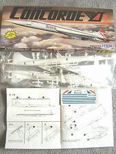 "CONCORDE ""BRITISH AIRWAYS"" MPC/AIRFIX 1/144"