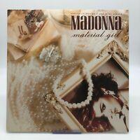 Madonna Material Girl LP Vinyl Record 1985 EX Sire/Warner Bros 0-20304