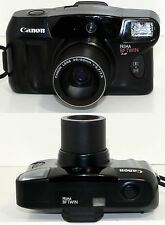 Vintage Canon PRIMA BF-TWIN AiAF 35mm Film Camera 38-80mm ZOOM Lens Tested Works