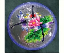 Bird Baths Dragonfly Trio Glass Bird Bath Se5013
