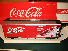 "Lgb #42911 Coca Cola ""Always The Real Thing"" Boxcar, Brand New"