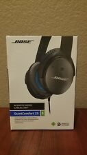 Bose QuietComfort 25 Headband Headphones - Black. New in Box! Never opened!