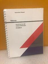 Tektronix 070 8688 05 Tas 475 Amp Tas 485 Analog Oscilloscopes Instruction Manual