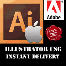 Adobe ILLUSTRATOR CS6 64 Bit Full Version | OFFICIAL DOWNLOAD + KEY | Mac OS X
