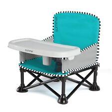 Pop 'n Sit Se Booster Chair, Aqua Sugar Color