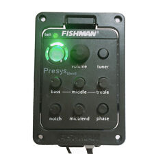 Acoustic Guitar Pickups Fishman Presys Blend 301 Onboard Preamp 4-Band Tuner Mic