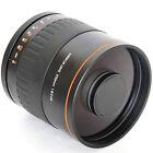 900mm f/8 Mirror Lens for Canon Digital 7D 5D Mark II III 60D T4i T3i + T2 Mount
