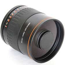 900mm f/8 Mirror Lens for Sony Alpha SLT-A35 A37 A55 A57 A65 A77 A350 + T2 Mount