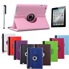 360° Rotating iPad Air 2 2G SMART PU Leather Case Cover + Screen Protector