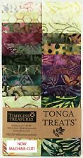"Timeless Treasures Tuscany Tonga Treats Jr. Jelly Roll 20 Batik Strips 2.5"" Wide"