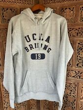 UCLA Sweatshirt New NWT Stitched Lettering Gray XL Hoodie Vintage Style $50